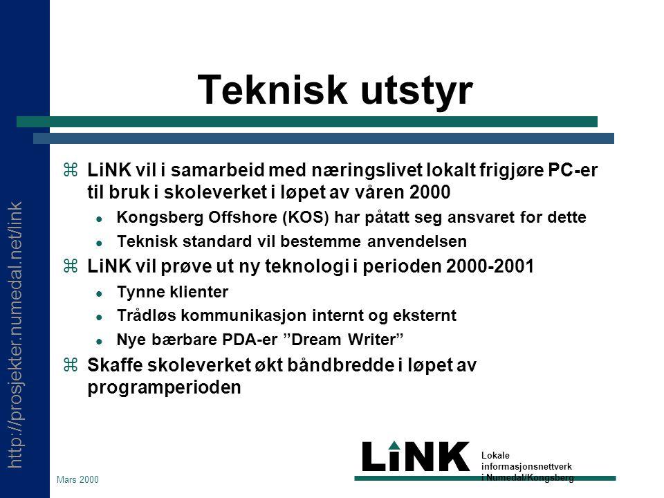 http://prosjekter.numedal.net/link LINK Lokale informasjonsnettverk i Numedal/Kongsberg Mars 2000 Hva er Blackboard