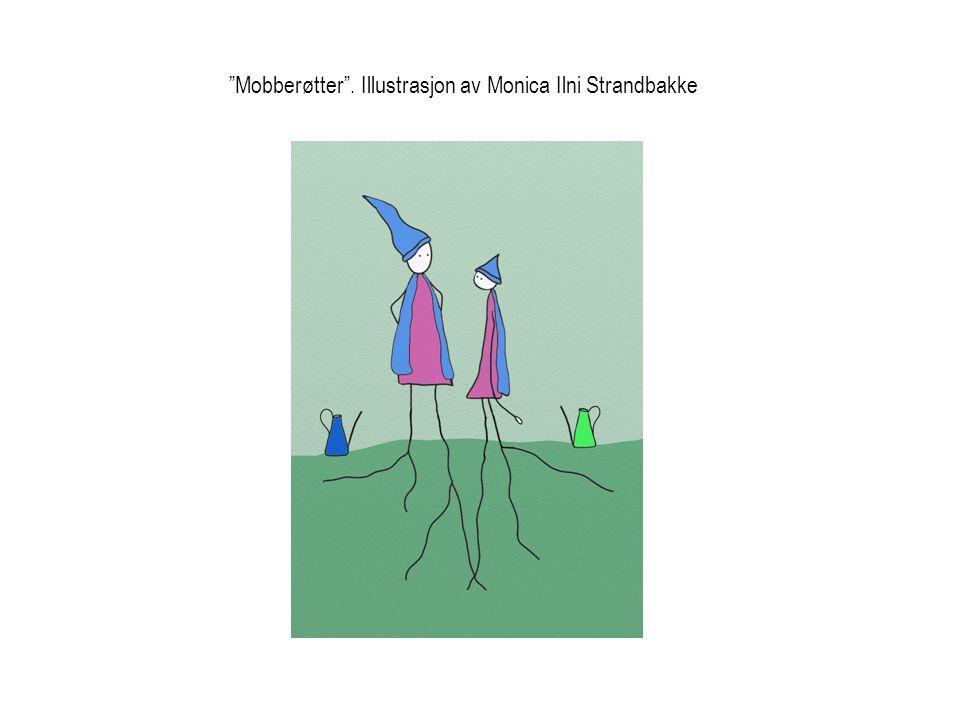 Mobberøtter . Illustrasjon av Monica Ilni Strandbakke
