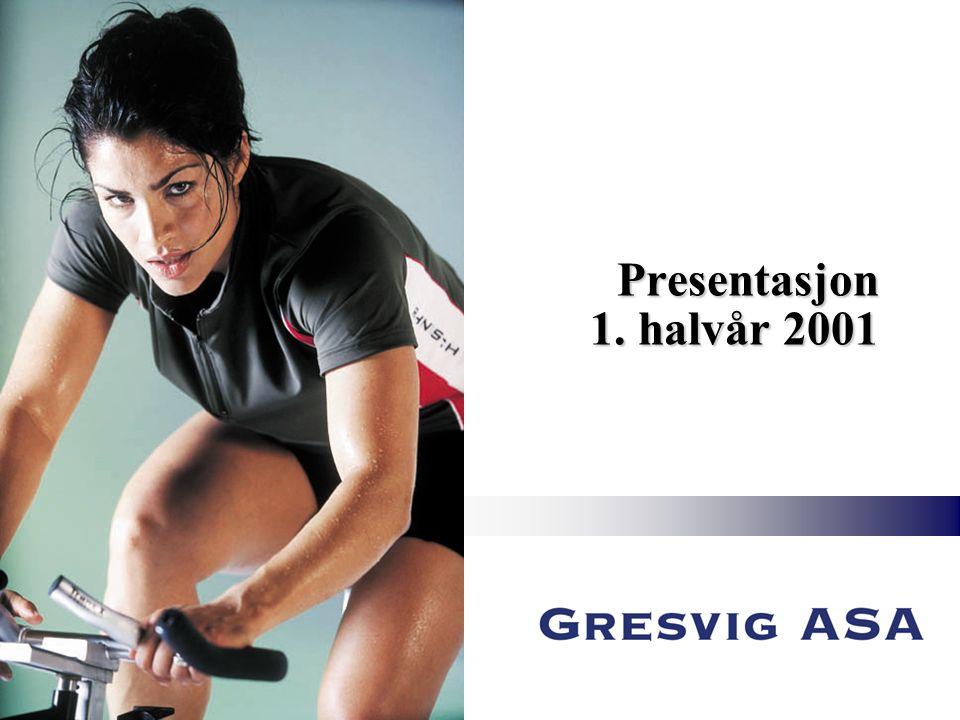 Presentasjon 1. halvår 2001