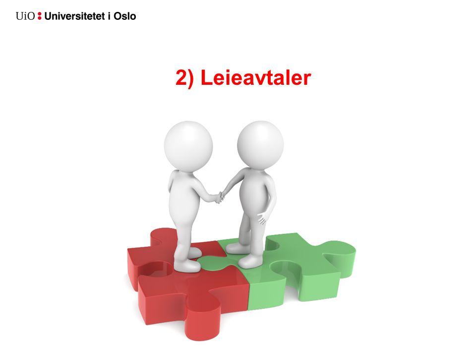 2) Leieavtaler