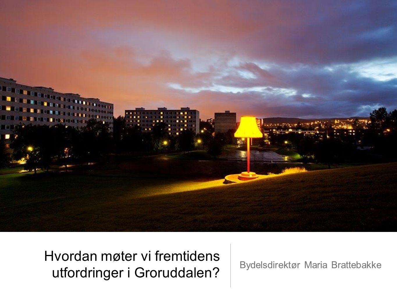 Hvordan møter vi fremtidens utfordringer i Groruddalen? Bydelsdirektør Maria Brattebakke