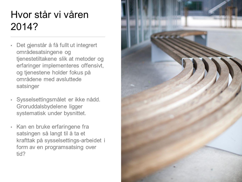 Groruddalen må vise vei, og vi har et stort ansvar for å utvikle tjenester, metoder og erfaringer som vil prege fremtidens Oslo.
