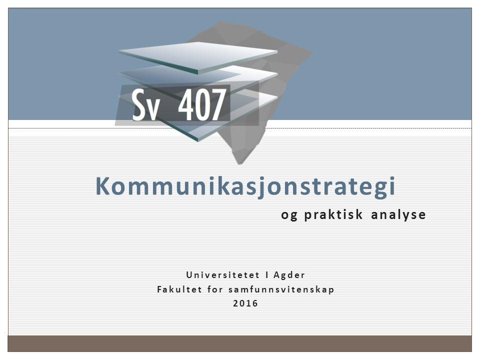 Innleveringer gruppearbeid og presentAsjoner Universitetet I Agder 2016 Oddgeir Tveiten 25 September 2016 Sv 407 2016 Grupppeoppgave 11.2.2016 2