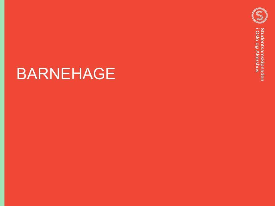 BARNEHAGE