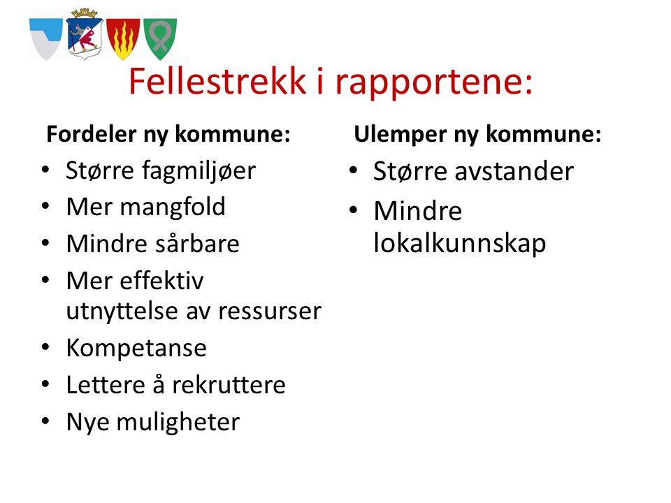 Informasjon og involvering Innbyggermøter Innbyggerundersøkelse i september Folkeavstemning i januar 2016 Fellesside på nett Facebook «Ny kommune?»
