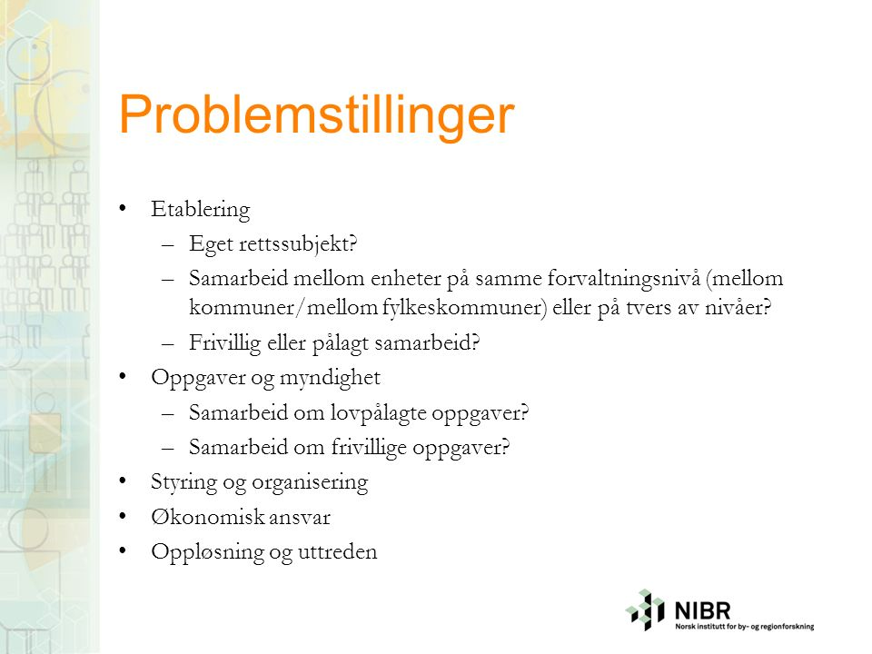 Vertskommunesamarbeid Kommuneloven kap.