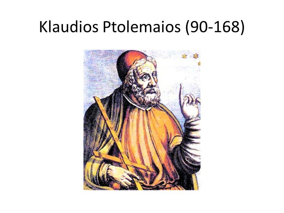 Klaudios Ptolemaios (90-168)