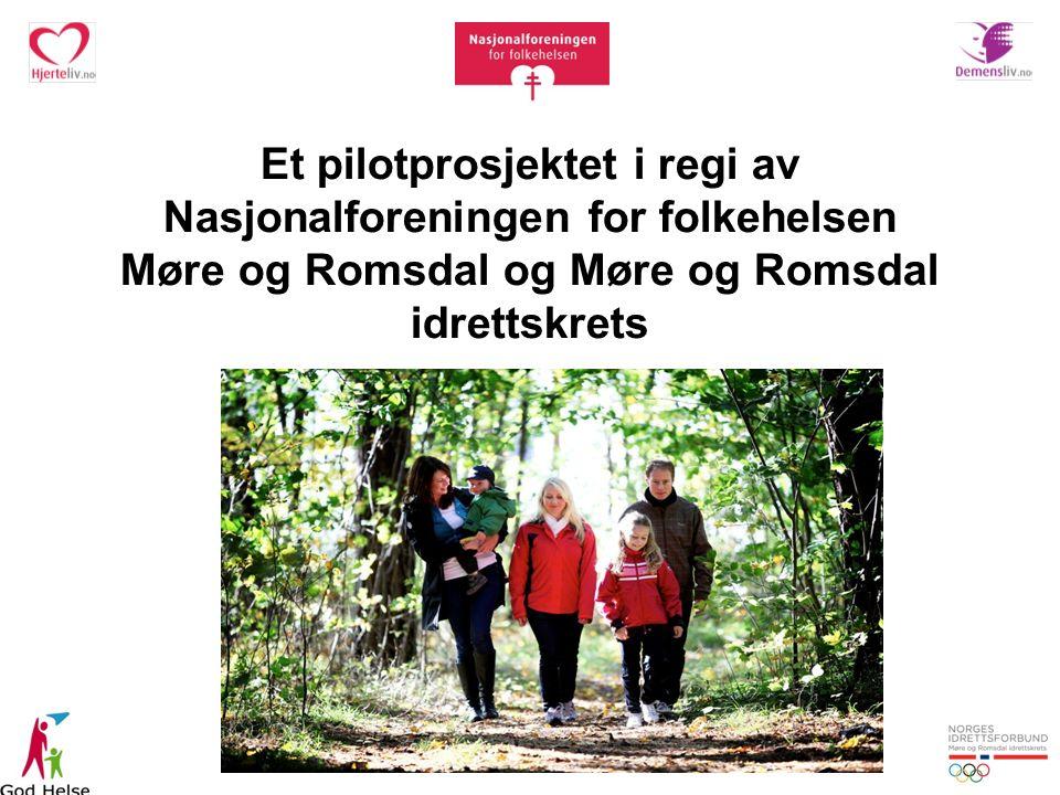 Et pilotprosjektet i regi av Nasjonalforeningen for folkehelsen Møre og Romsdal og Møre og Romsdal idrettskrets