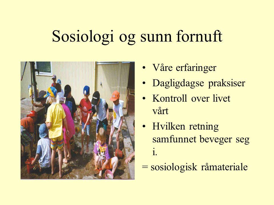 Sosial integrasjon; felles mening.Mekanisk og organisk solidaritet.