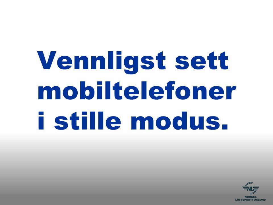 Fagseminar agenda Lørdag 4.mars Søndag 5.