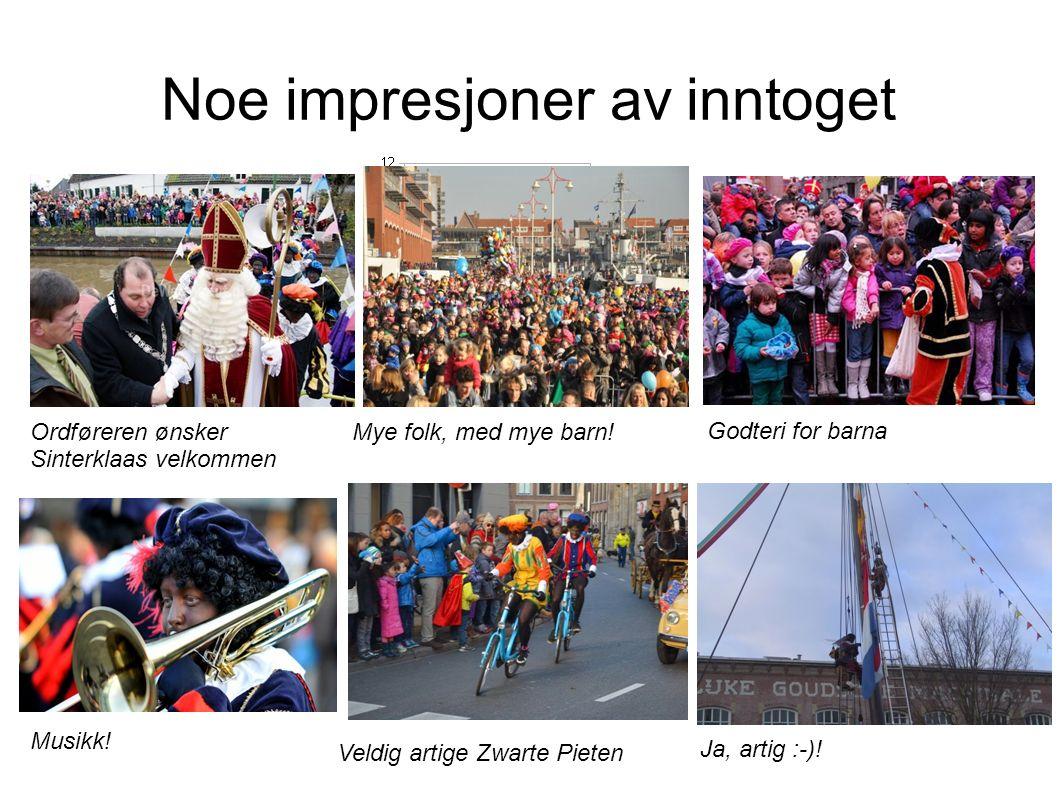 Sinterklaasjournaal: nyheter om Sinterklaas (http://sinterklaasjournaal.ntr.nl )http://sinterklaasjournaal.ntr.nl Hvert år blir det spennende om Sinterklaas rekker å komme til Nederland i November.