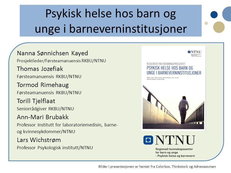 Vanskelig å oppdage, vanskelig å behandle Dette tegner et bilde av ungdommer i norske barneverninstitusjoner som har alvorlige, sammensatte psykiatriske lidelser som gjør det vanskelig - å oppdage lidelsene i sin helhet - og behandle dem.
