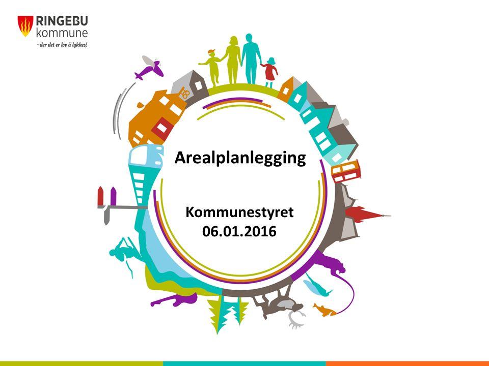 Arealplanlegging Kommunestyret 06.01.2016