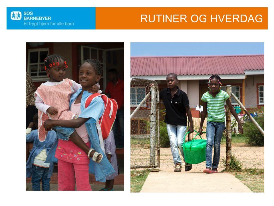 HVA GJØR DEG LYKKELIG Mr. Filomeno, sosialarbeider: - Når barn og SOS-mødre samhandler godt