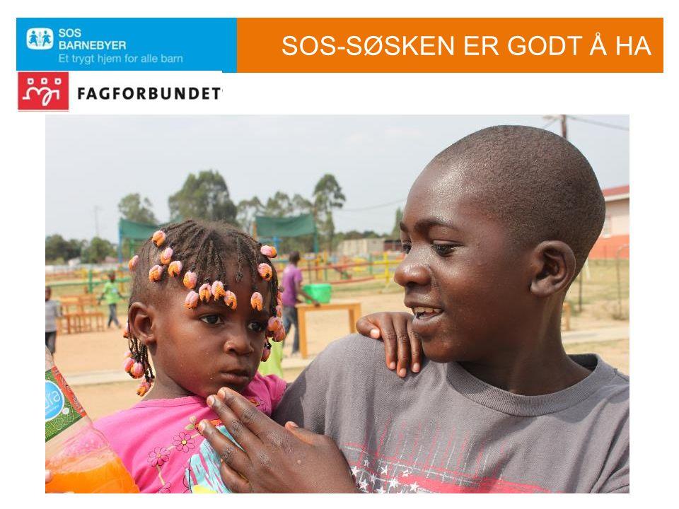 SOS-SØSKEN ER GODT Å HA