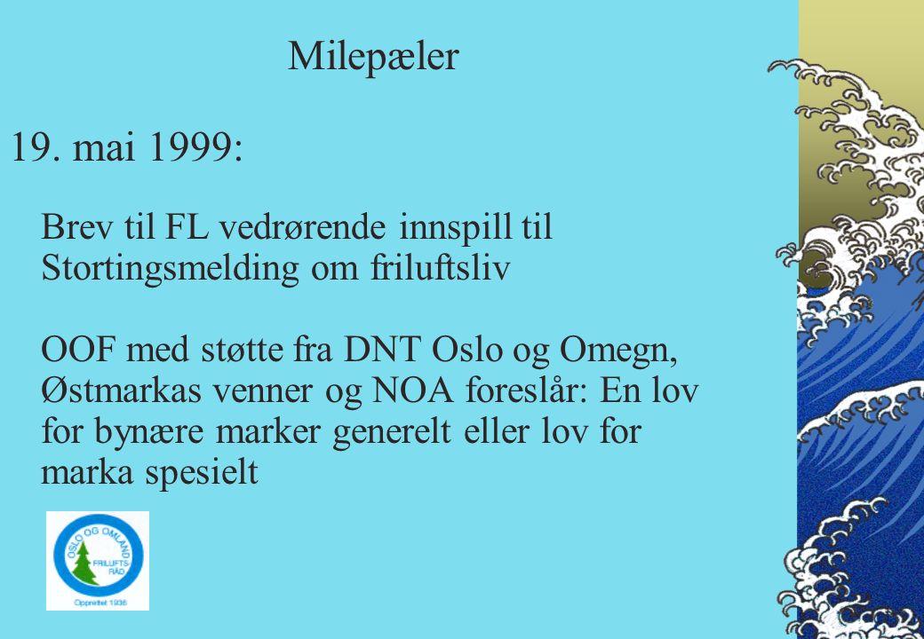 5. februar 2002: Brev til Stortingets energi- og miljøkomité om bl.a sikring av marka