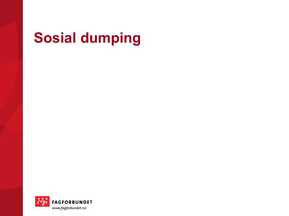 Sosial dumping