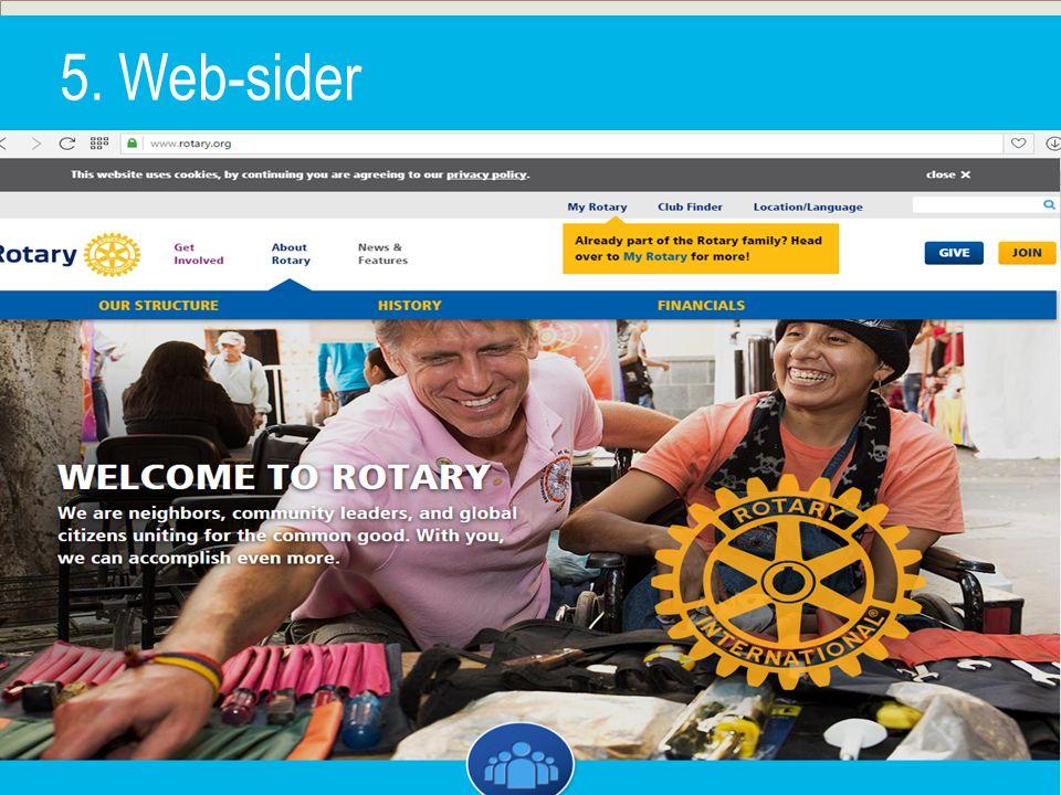 5. Web-sider