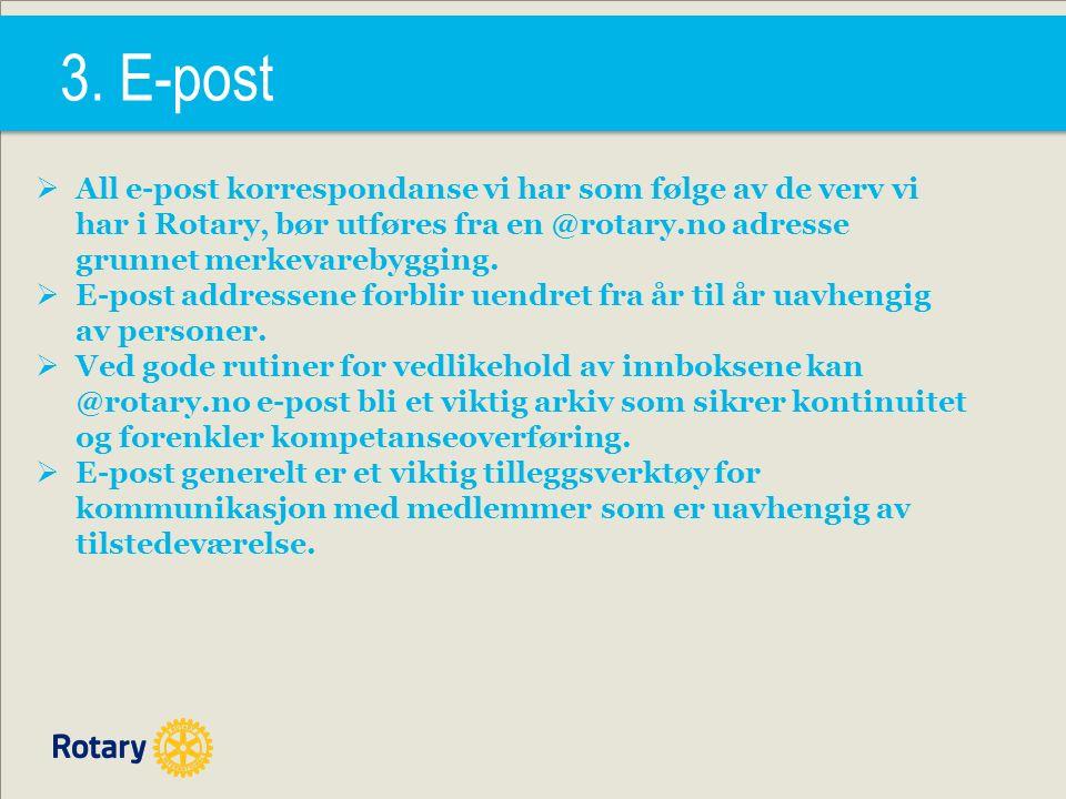 4. Nytt Medlemsnett: Medlemmer - Endre