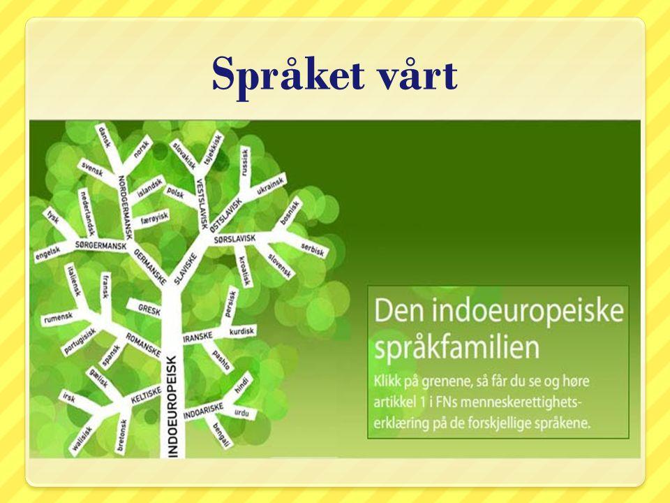 Talespråk og skriftspråk Hva vil det si å snakke norsk.