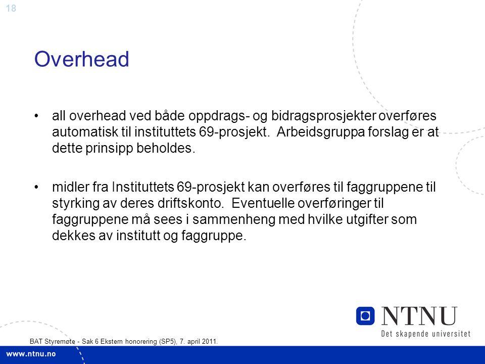 18 BAT Styremøte - Sak 6 Ekstern honorering (SP5), 7.