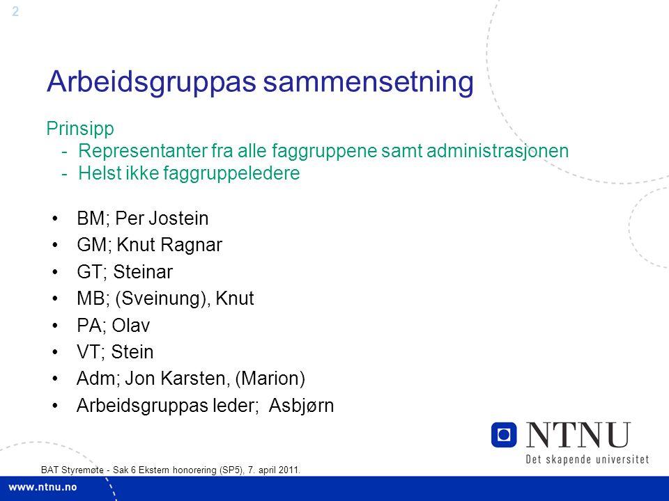 13 BAT Styremøte - Sak 6 Ekstern honorering (SP5), 7.