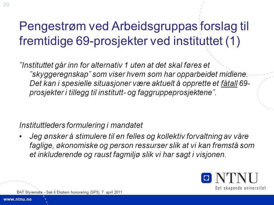 20 BAT Styremøte - Sak 6 Ekstern honorering (SP5), 7.