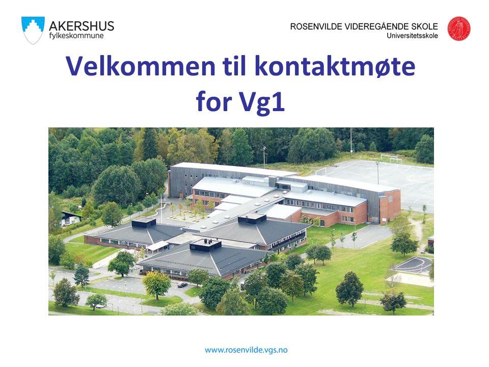 Velkommen til kontaktmøte for Vg1