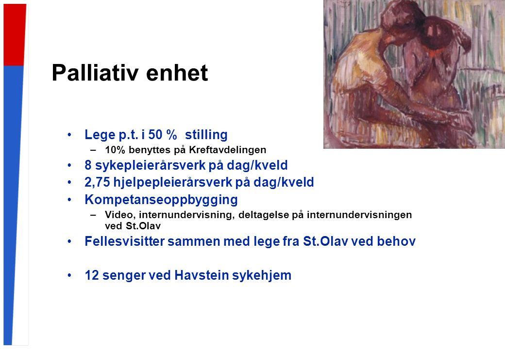 Palliativ enhet Lege p.t.