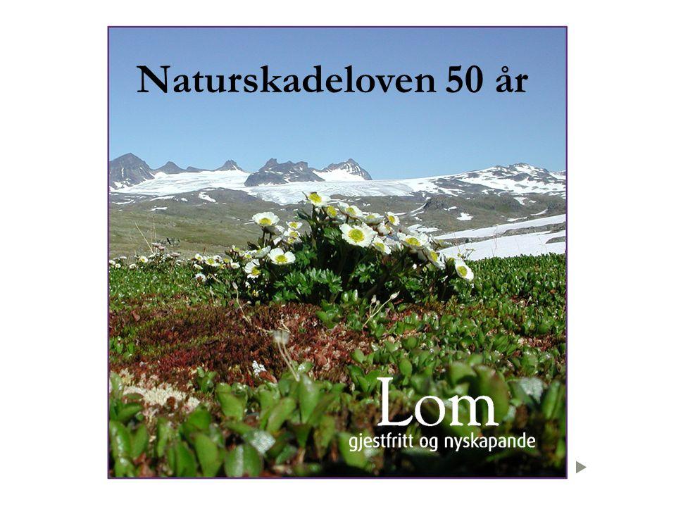 Naturskadeloven 50 år