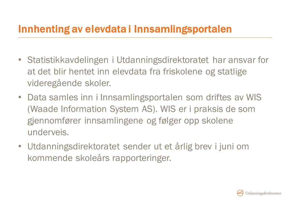 Riktig kontaktinformasjon Juridisk, tilsyn og tilskudd - foretaksnummer Statistikk, masseutsendelser og eksamen – bedriftsorganisasjonsnummer Sjekk i NSR at det er riktig e-postadresse på både foretaket og bedriften Hvis dette er riktig oppdatert fra NSR, vil det også bli riktig i Brønnøysund.