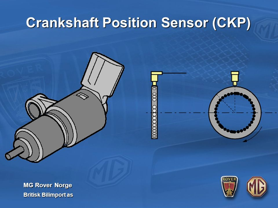 MG Rover Norge Britisk Bilimport as Crankshaft Position Sensor (CKP)