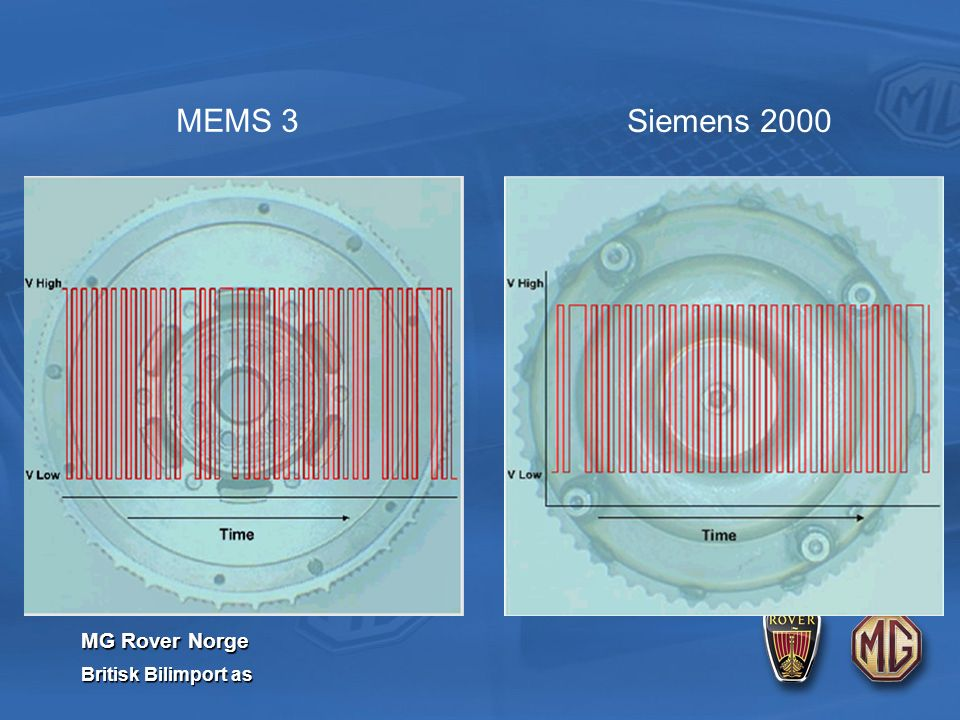 MG Rover Norge Britisk Bilimport as MEMS 3 Siemens 2000