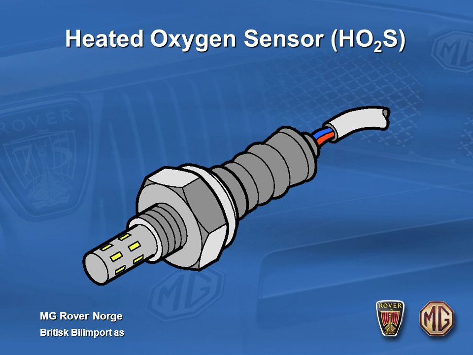MG Rover Norge Britisk Bilimport as Heated Oxygen Sensor (HO 2 S)