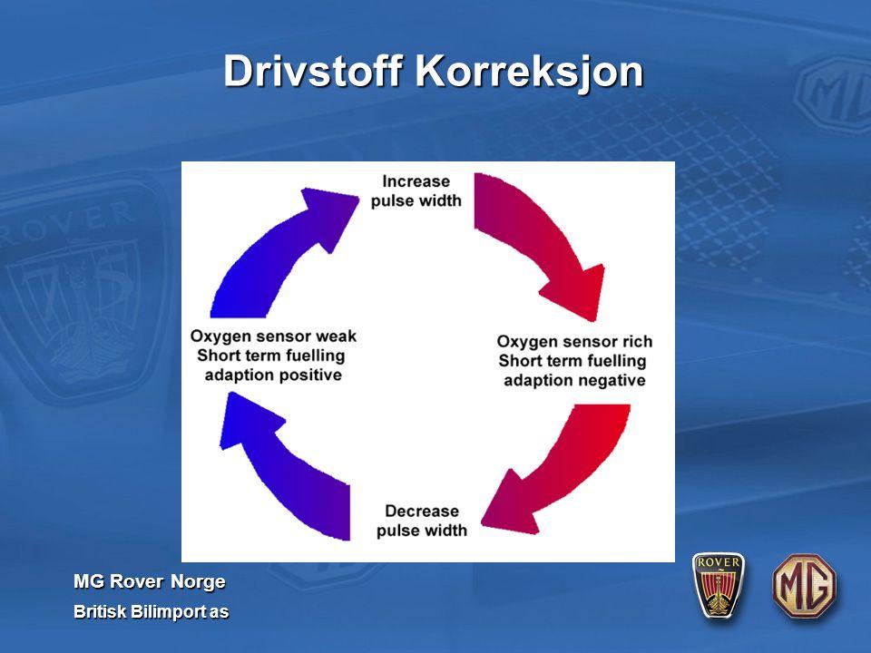 MG Rover Norge Britisk Bilimport as Drivstoff Korreksjon