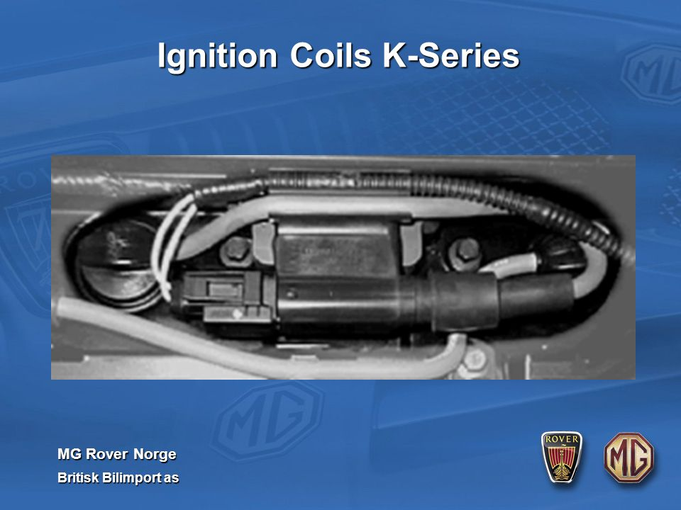MG Rover Norge Britisk Bilimport as Ignition Coils K-Series