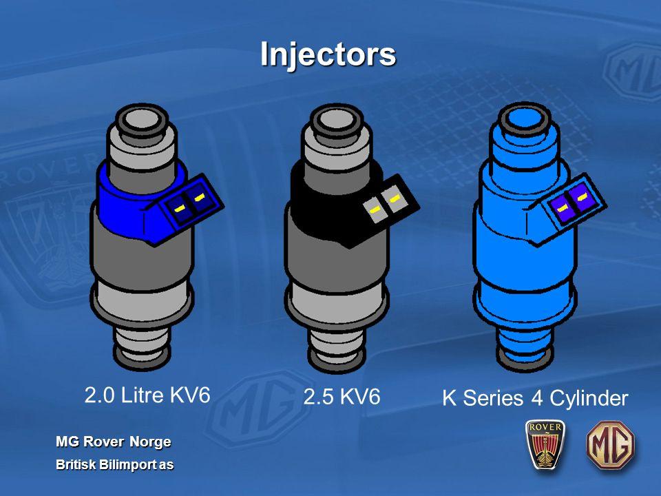 MG Rover Norge Britisk Bilimport as 2.0 Litre KV6 2.5 KV6 K Series 4 Cylinder Injectors