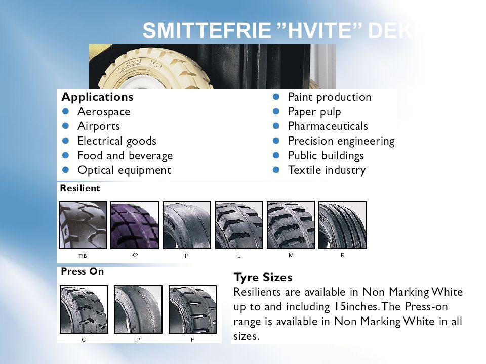 SMITTEFRIE HVITE DEKK