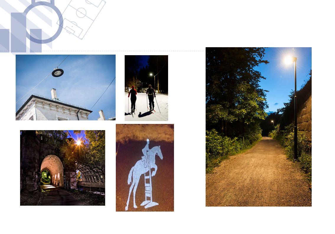 Gate- veilysnettet (fordelings nett) i Oslo Kommune er meget omfattende og godt utbygget.