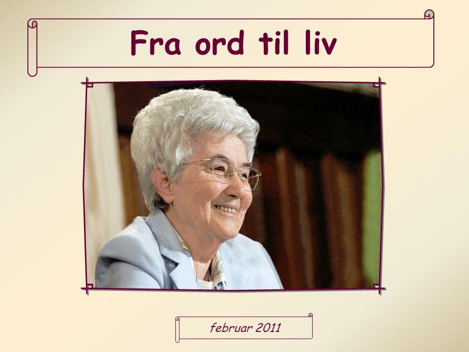 Fra ord til liv februar 2011