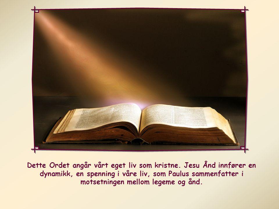 Alle som drives av Guds Ånd, de er Guds barn.