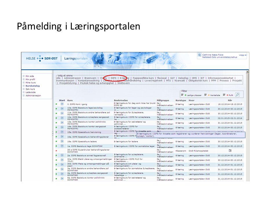 Prosedyrer og brukerveiledninger - eHåndboken