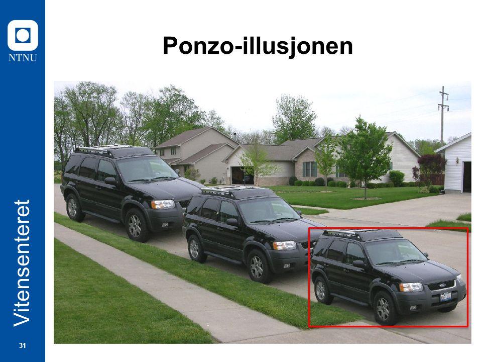 31 Vitensenteret Ponzo-illusjonen