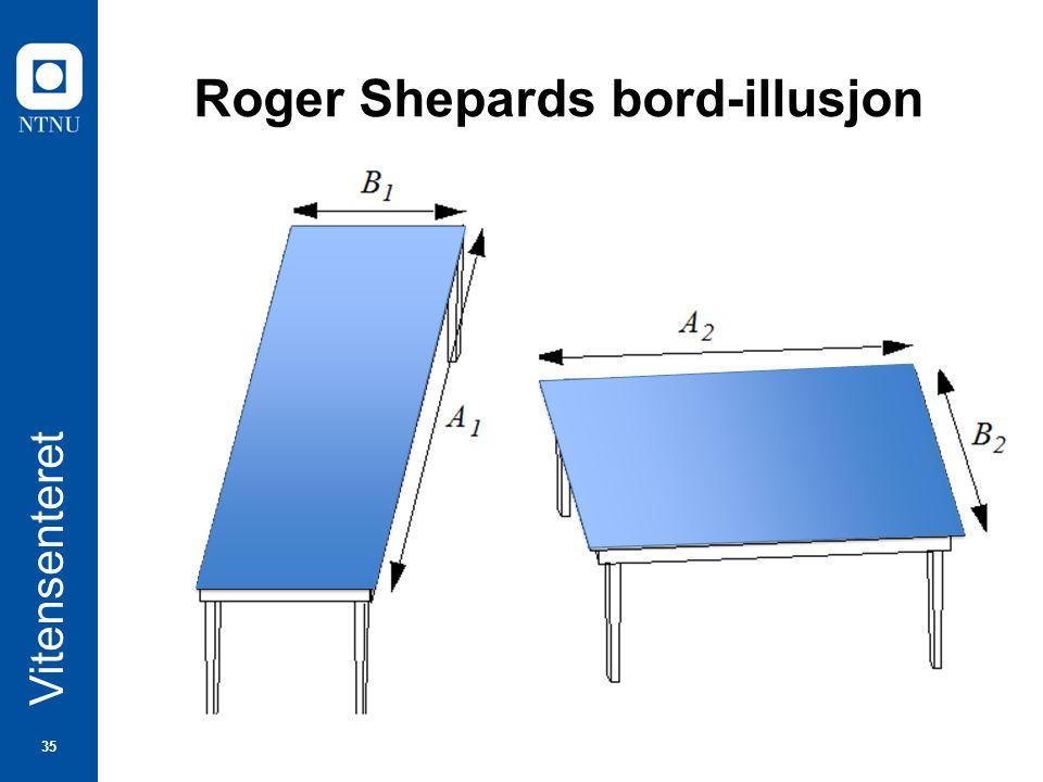 35 Vitensenteret Roger Shepards bord-illusjon