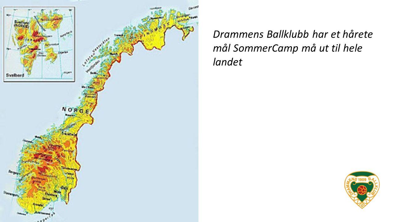 Drammens Ballklubb har et hårete mål SommerCamp må ut til hele landet