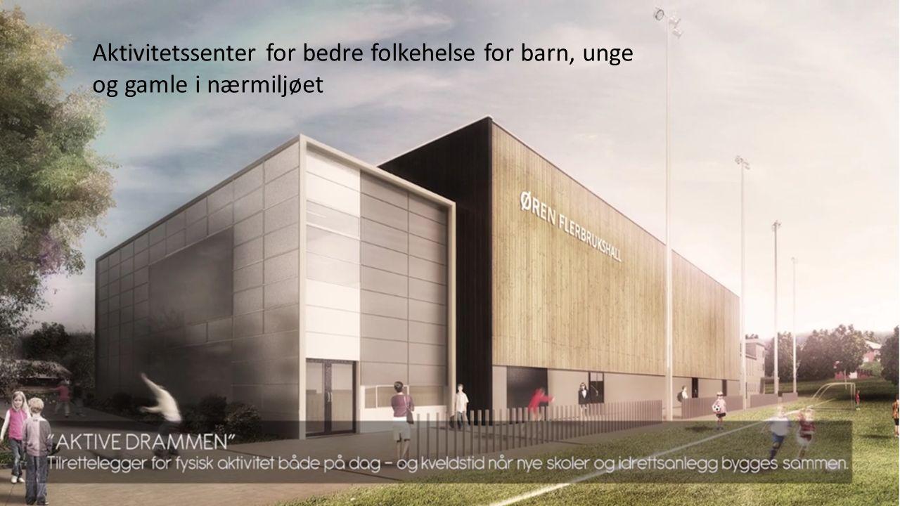 KroppsEventyrLandet Flerbrukshall Motorikkhall Dansesal Styrkerom Kunstgressbane Kunstisbane
