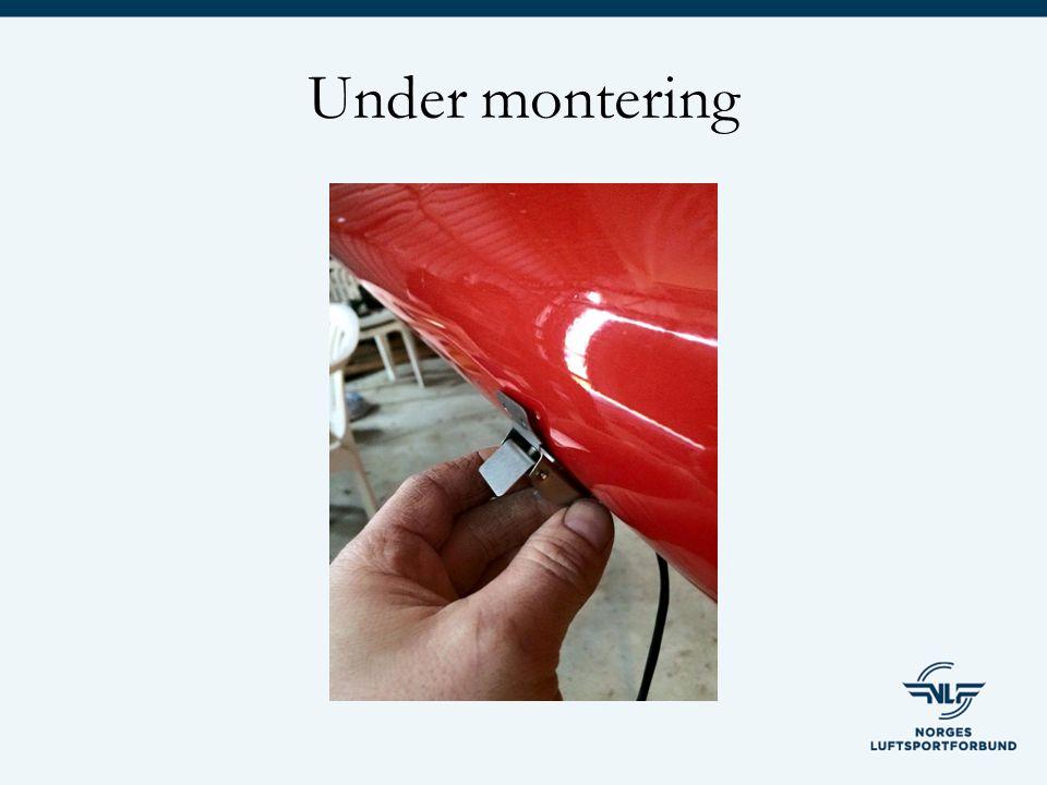 Under montering