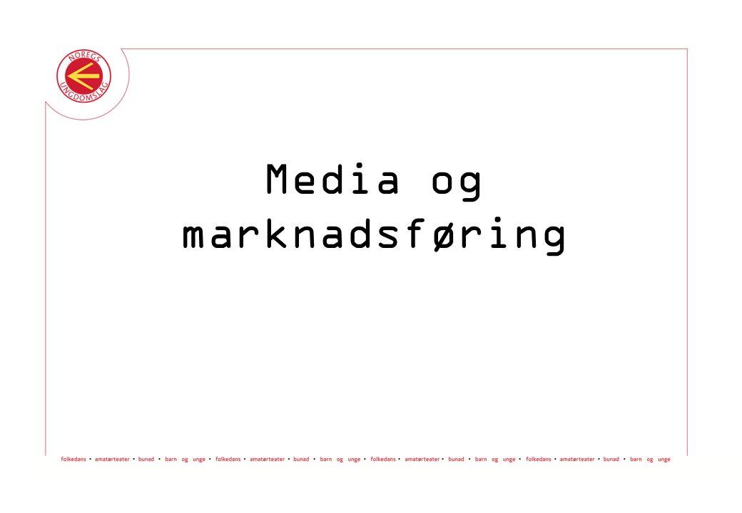 Media og marknadsføring