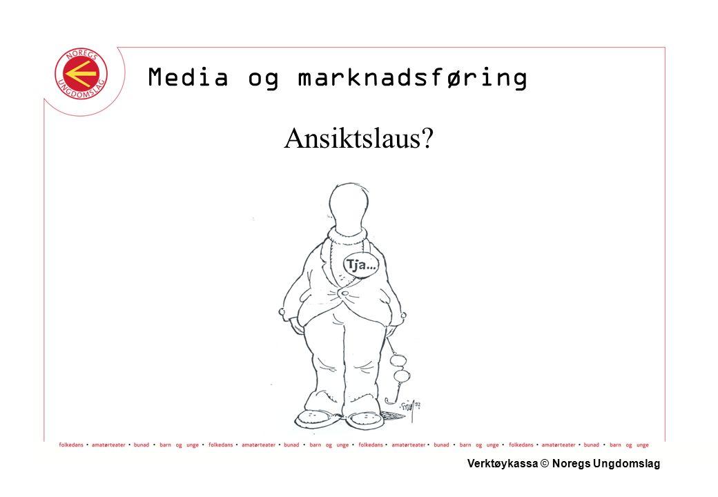 Ansiktslaus Verktøykassa © Noregs Ungdomslag Media og marknadsføring