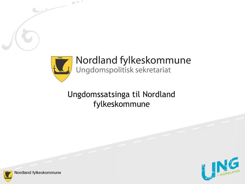 Ungdomssatsinga til Nordland fylkeskommune